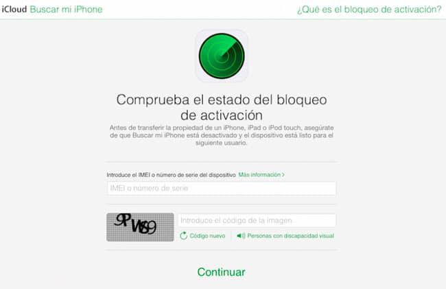 Buscar mi iPhone