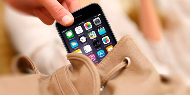iPhone Robado