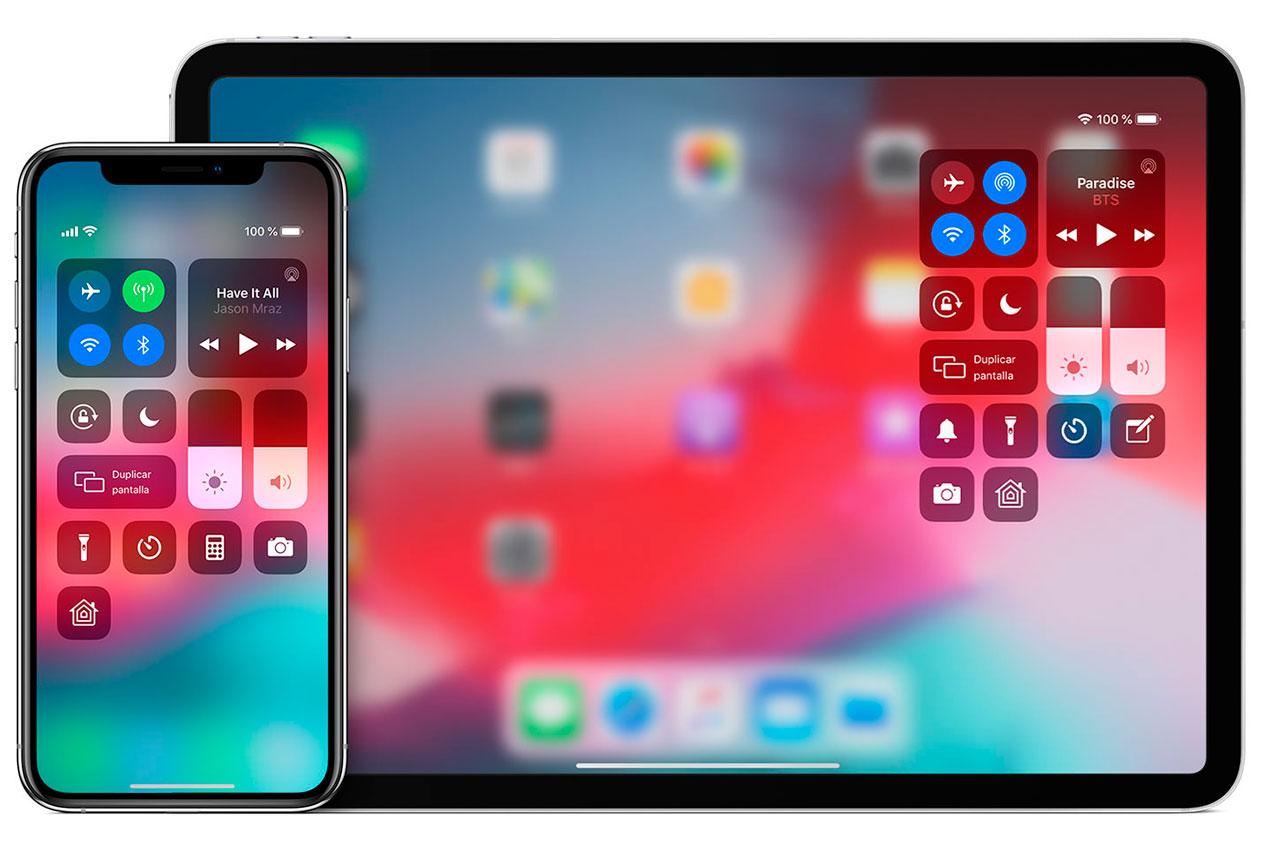 Desactivar el centro de control de iOS