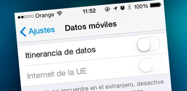 Actualizar ajustes del operador iPhone