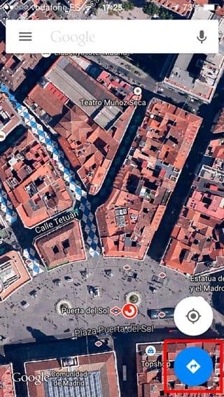 Google Maps Cómo llegar