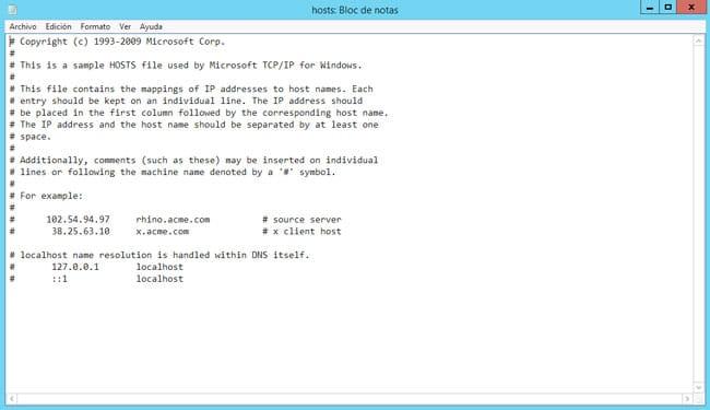 Revisar Host para corregir Error 3194 iOS