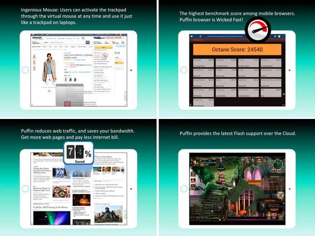 Puffin Web Browser, navegador con Flash para iOS