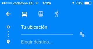 seleccionar-transporte-google-maps