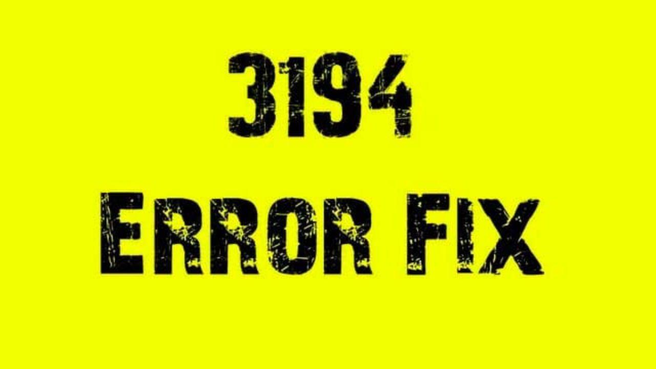 Cómo solucionar el Error 3194 al actualizar iPhone y iPad