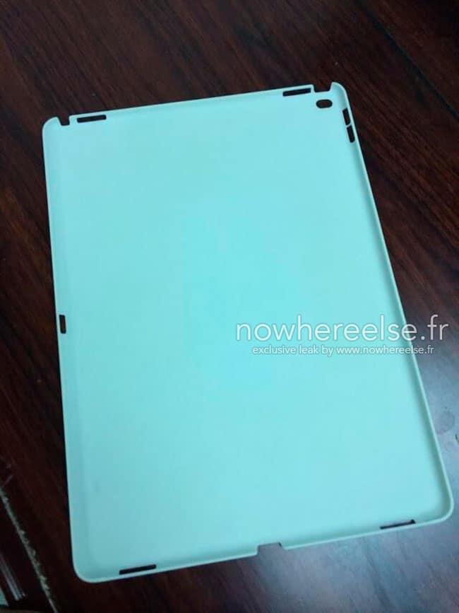Supuesta carcasa iPad Pro