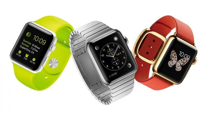 Gama Apple Watch