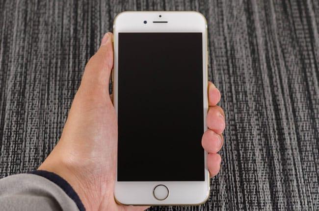 Calibrar boton home iPhone