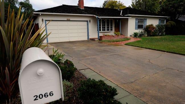 Casa de los padres de Steve Jobs