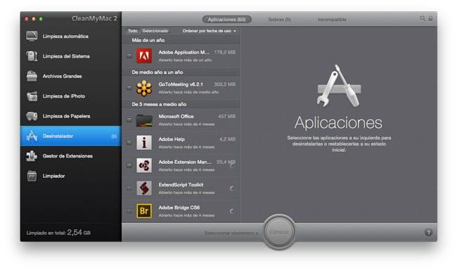 Desinstalar apps Mac correctamente para mejorar rendimiento