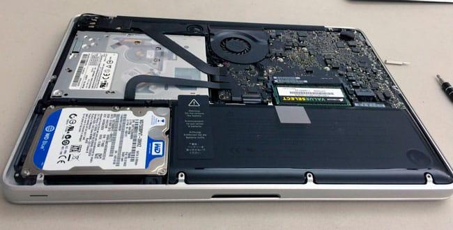 Actualizar hardware MacBook Pro