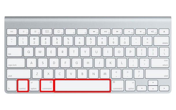 Atajo de teclado para activar emojis en Mac