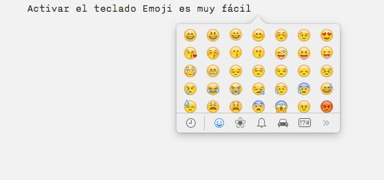 Teclado Emoji Mac
