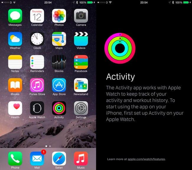 Actividad iOS 8.2