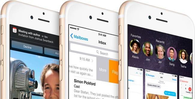 Consumo batería iOS 8.2