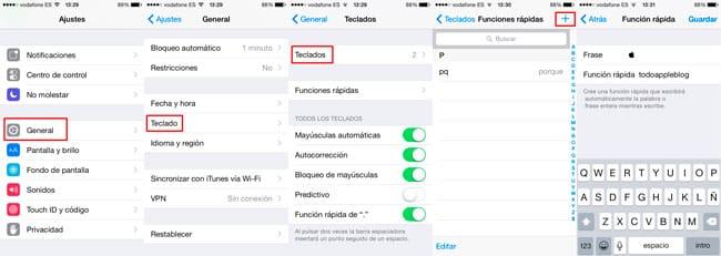 Escribir símbolo Apple en iPhone y iPad