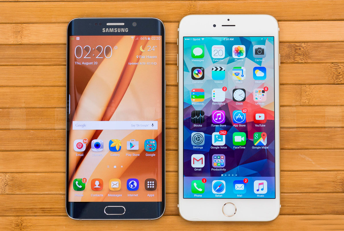 Galaxy S6 vs iPhone 6 Plus