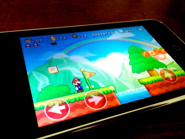 Mario iPhone