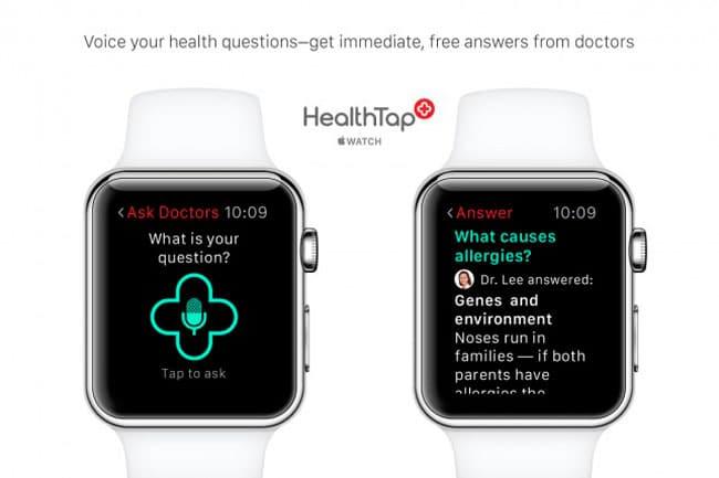 Apple Watch en el sector médico