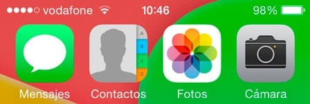 App Fotos en iOS