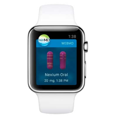 WebMD llega a Apple Watch