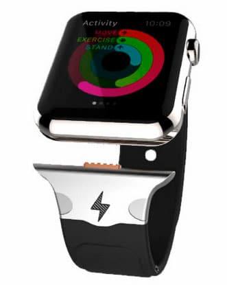 Apple Watch con correa con batería extra