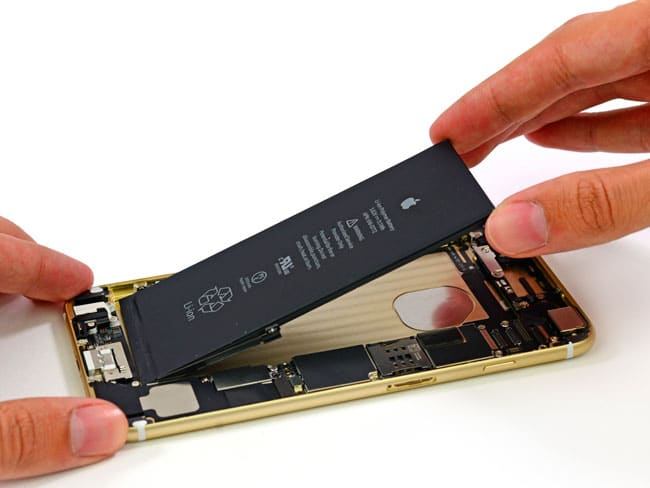 Interior del iPhone 6