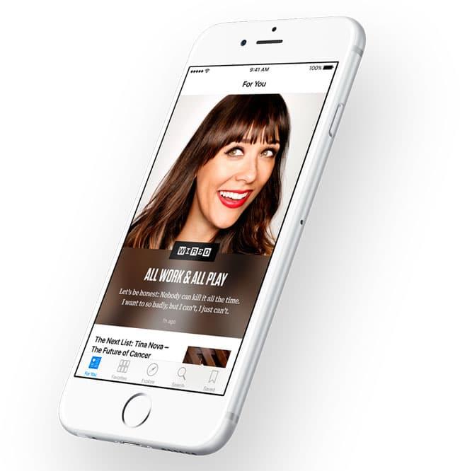 App de noticias en iOS 9