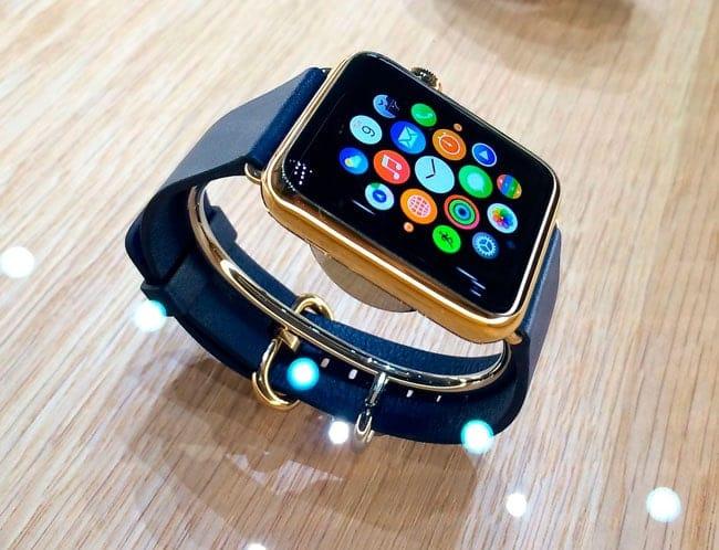 Apple Watch dorado
