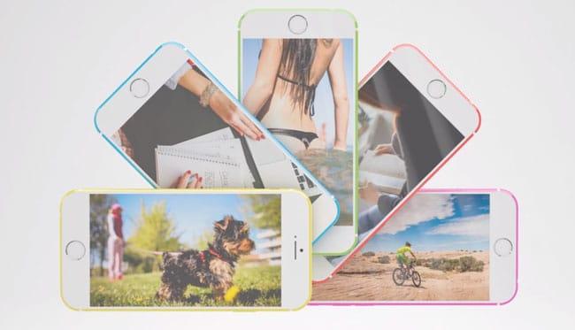 Concepto iPhone 6c Colores