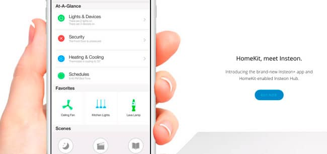 HomeKit iPhone Insteon