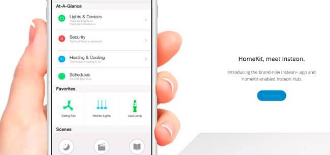 HomeKit iPhone Insteon
