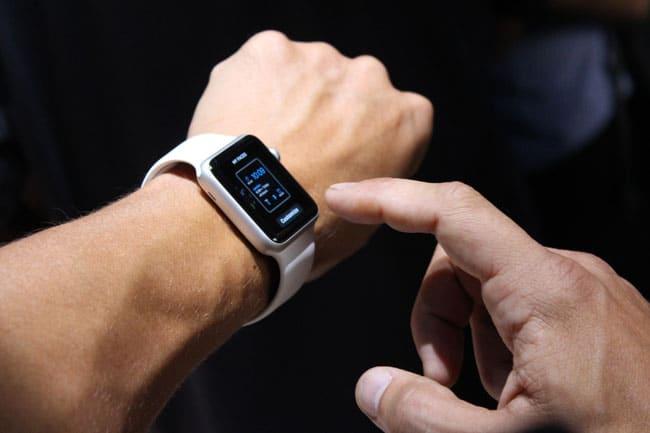 Levantar muñeca Apple Watch