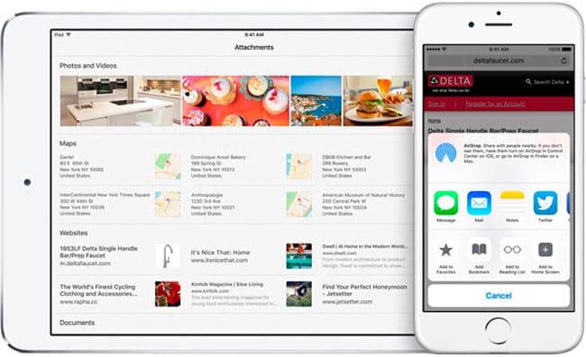 Notas para iOS 9