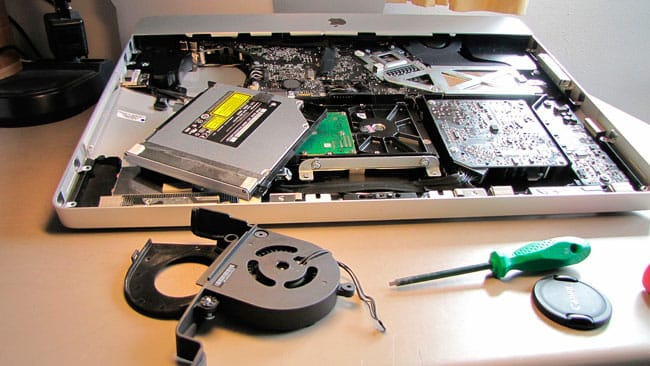 Sustitución disco duro iMac