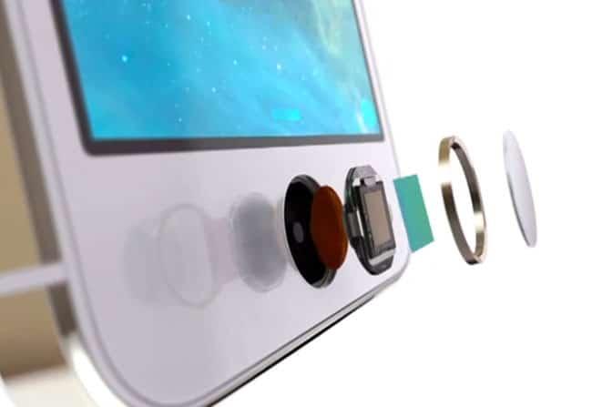 Esquema Touch ID