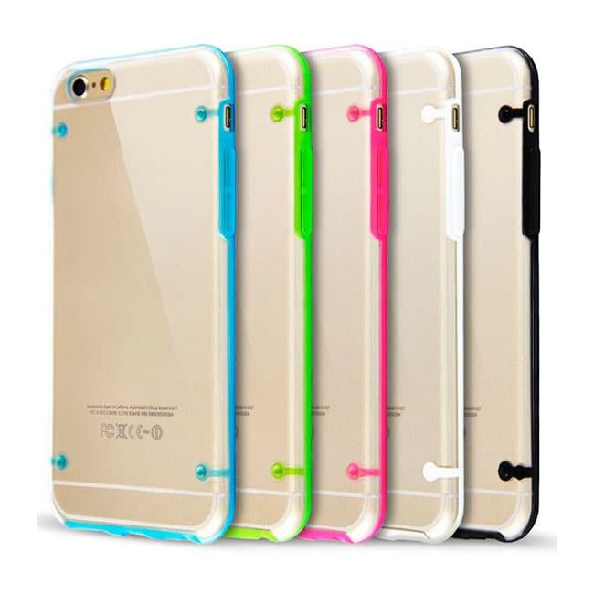 Protector Ultra-delgado Crystal Design para iPhone 6
