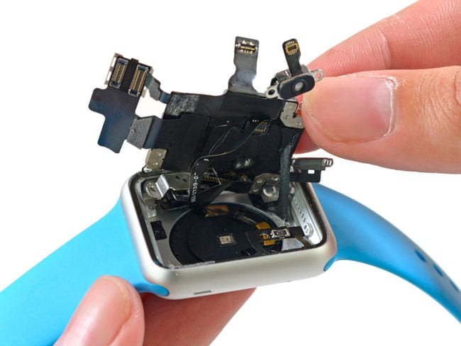 Apple Watch desmontado