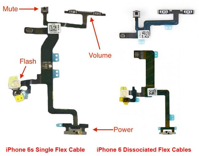 Cable flex de iPhone 6s