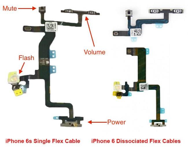 Cable flex de iPhone 6s