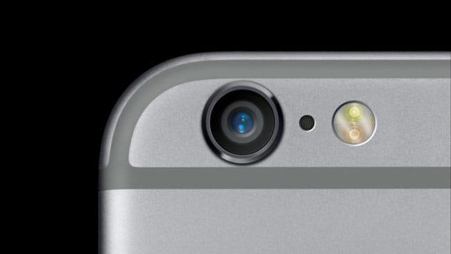 iPhone 6s cámara 12 megapíxeles