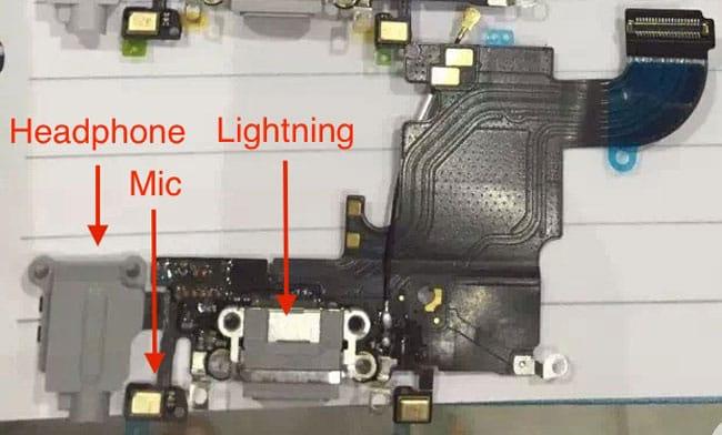Componentes filtrados iPhone 6s Plus