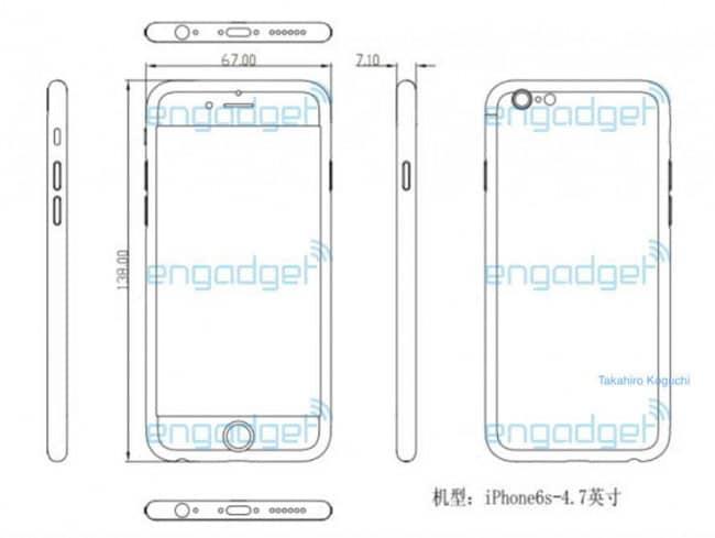 Esquemas iPhone 6s