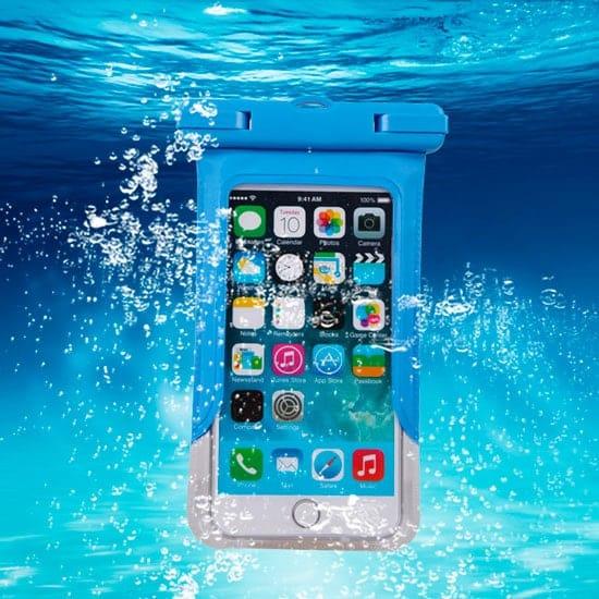 Funda acuática tipo bolsa para iPhone