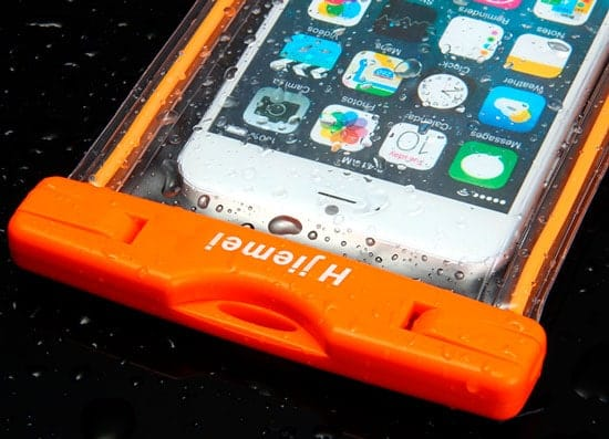 Funda protectora iPhone naranja