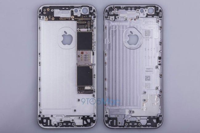 iPhone 6s filtración carcasa