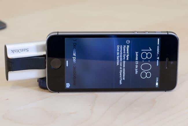iXpand Conectado iPhone