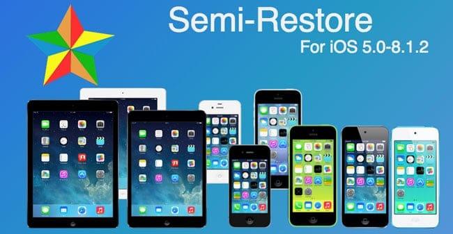 Restaurar iPhone, iPad y iPod Touch sin perder el Jailbreak
