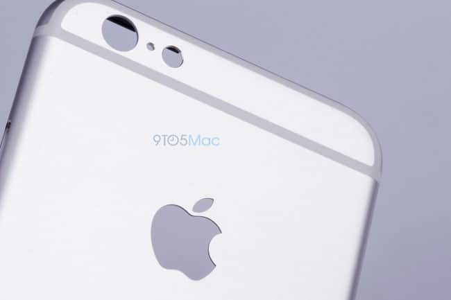 Trasera iPhone 6s, cámara