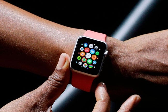 Botón secundario Apple Watch